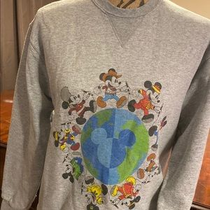Disney Tops - It's a small world Mickey sweatshirt